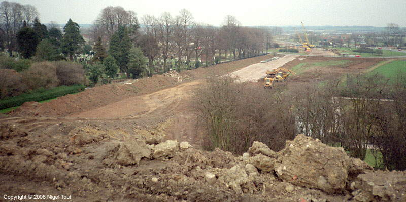 Embankment removal