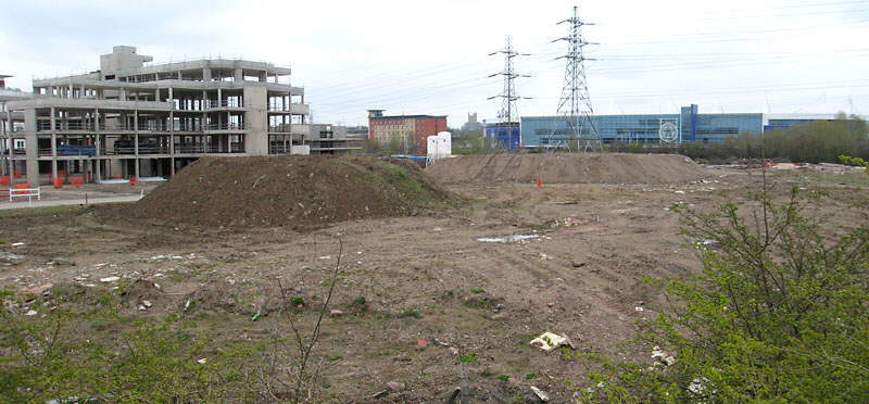 GCR locomotive shed site, Leicester