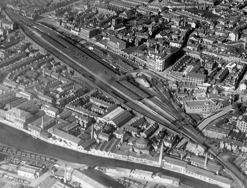 Old Photographs Around Leicester Central Station