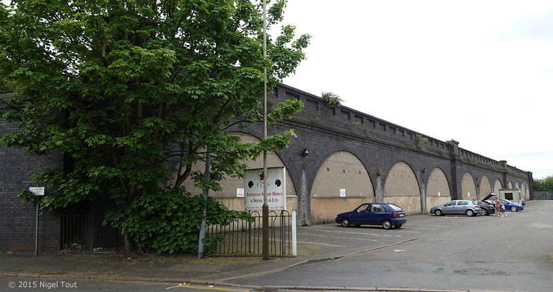 GCR viaduct, Slater Street, Leicester