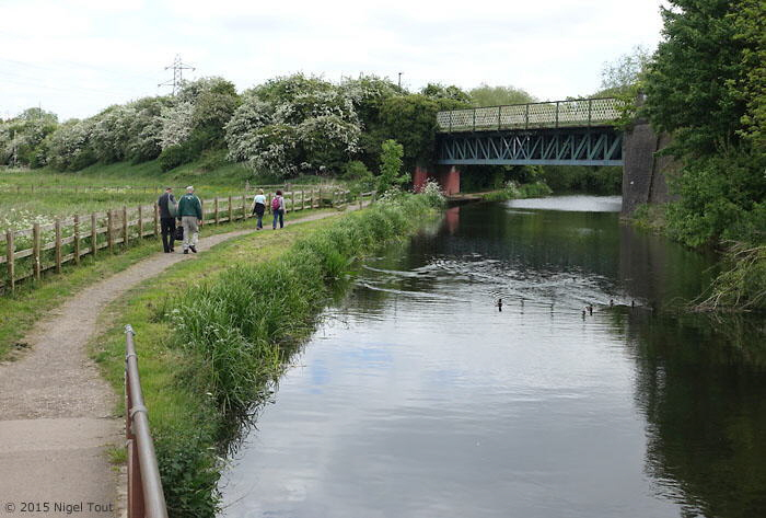 GCR bridge over Grand Union canal, Aylestone