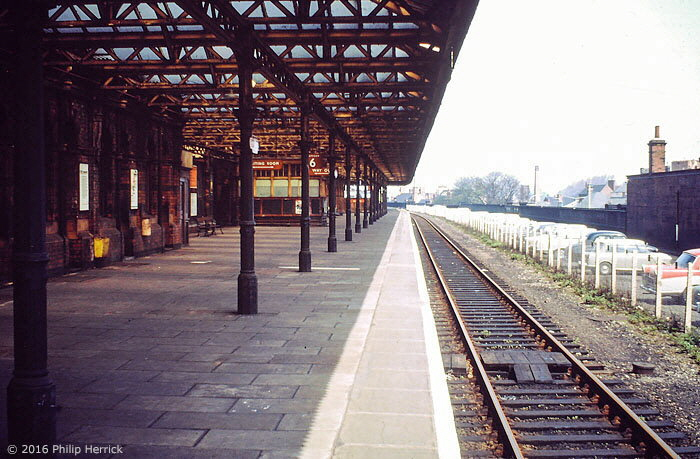 Platform 6 at Leicester Central station
